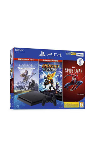 PlayStation 4 Slim 500GB + Hits Bundel (PlayStation 4)