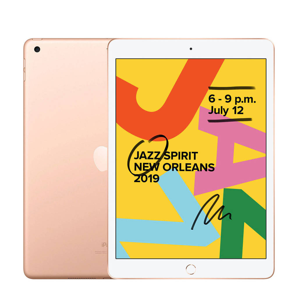 Apple 32GB Wifi (Goud) US model + NL stekker iPad 2019