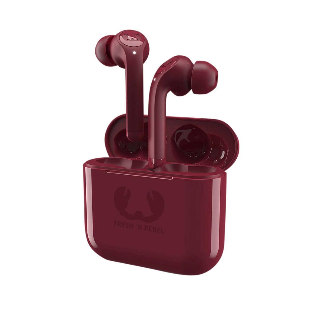 Fresh 'n Rebel Twins Bluetooth oordopjes (rood), Rood
