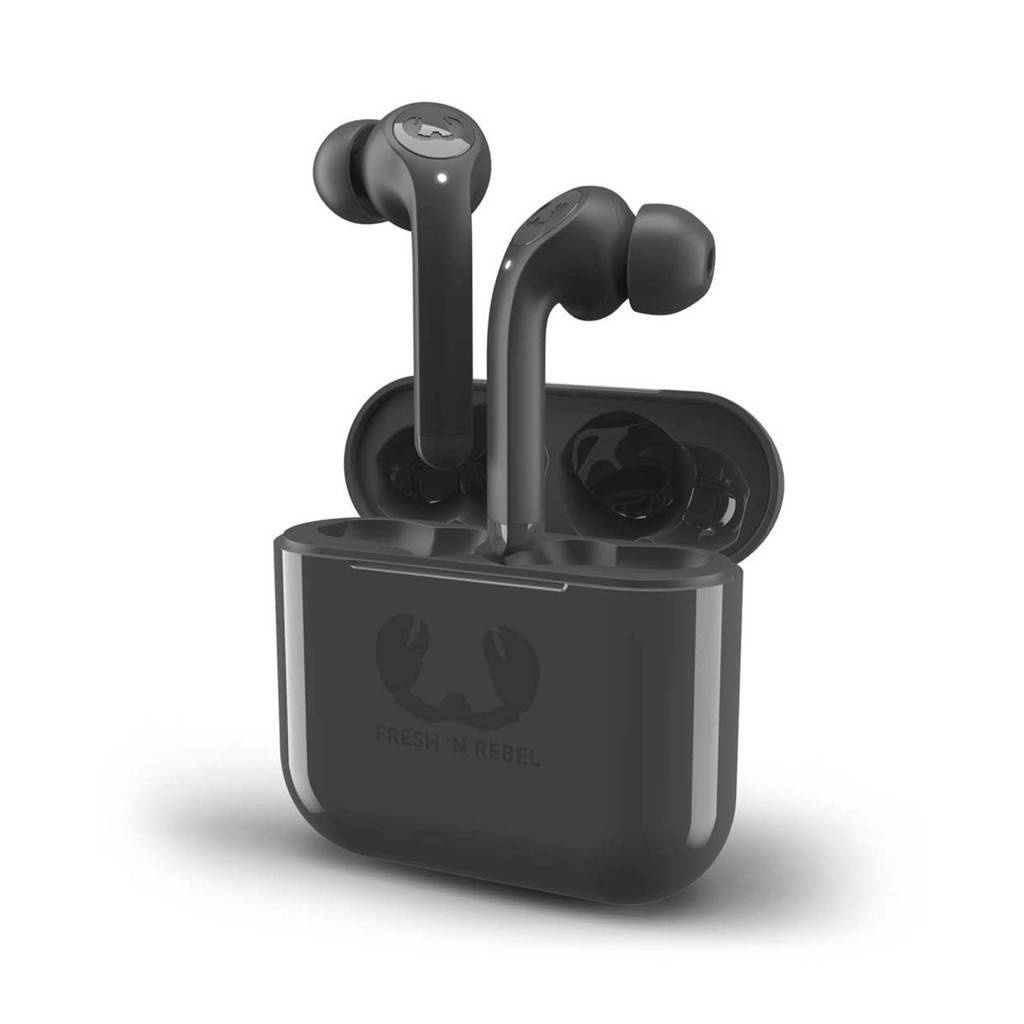Fresh 'n Rebel Twins Tip Bluetooth in-ear hoofdtelefoon (zwart), Grijs