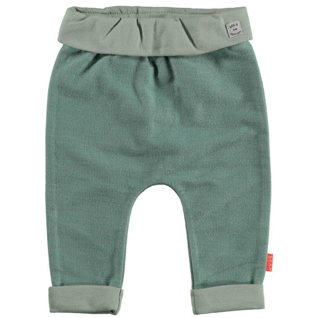 B.E.S.S baby broek groen, Groen