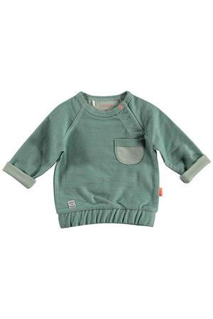 B.E.S.S baby sweater groen
