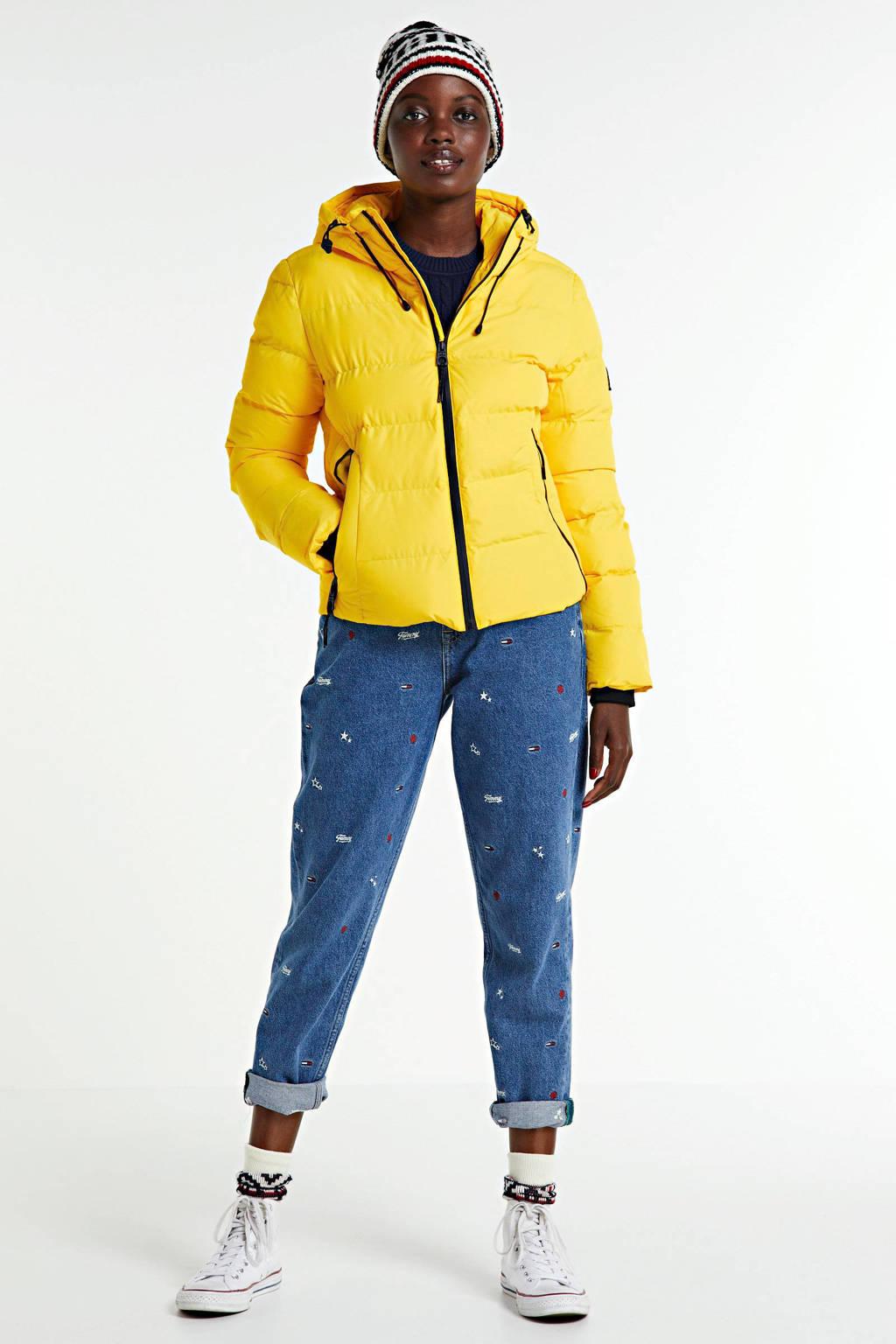 Superdry gewatteerde winterjas Puffer nautical yellow, Nautical Yellow