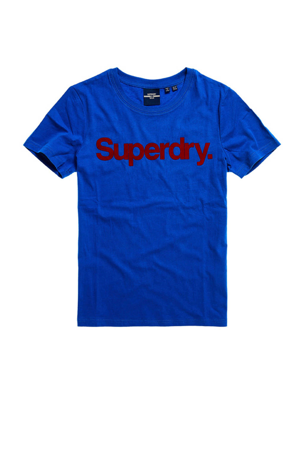 Superdry T-shirt met logo eagle blue, Eagle Blue