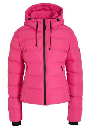 gewatteerde winterjas Puffer pink