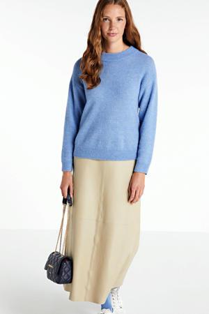 trui Ebru met wol blauw