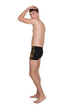 Endurance 10 zwemboxer zwart/oranje