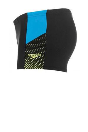 Endurance 10 zwemboxer Dive zwart/blauw