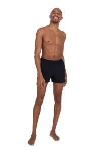 Speedo zwemshort Retro 13 zwart/wit, Zwart/wit