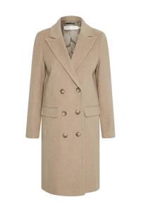 Inwear coat LaudaIW Classic Coat met wol beige, Beige