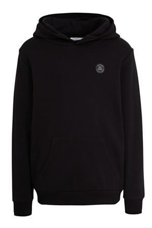 hoodie Olson met logo zwart