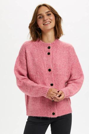 vest KAberil Short Cardigan roze