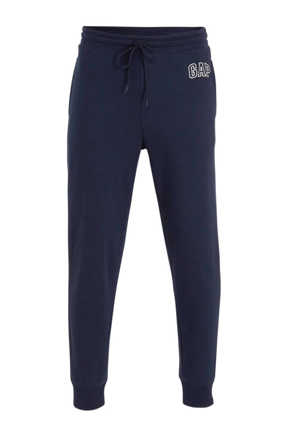 GAP regular fit joggingbroek met logo donkerblauw, Donkerblauw