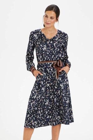 blousejurk KAbita Dress van gerecycled polyester blauw