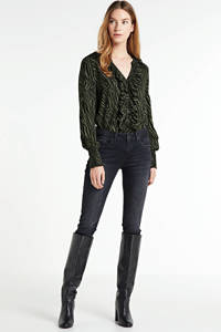 Cream blouse GivinaCR Shirt groen, Groen