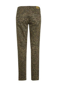 Cream slim fit jeans LotteCR Printed Twill Pants - Coco Fit met all over print multi, Multi