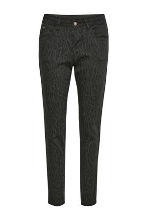 slim fit jeans LotteCR Printed Twill Pants - Coco Fit grijs