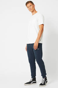America Today regular fit joggingbroek navy melange, Navy Melange