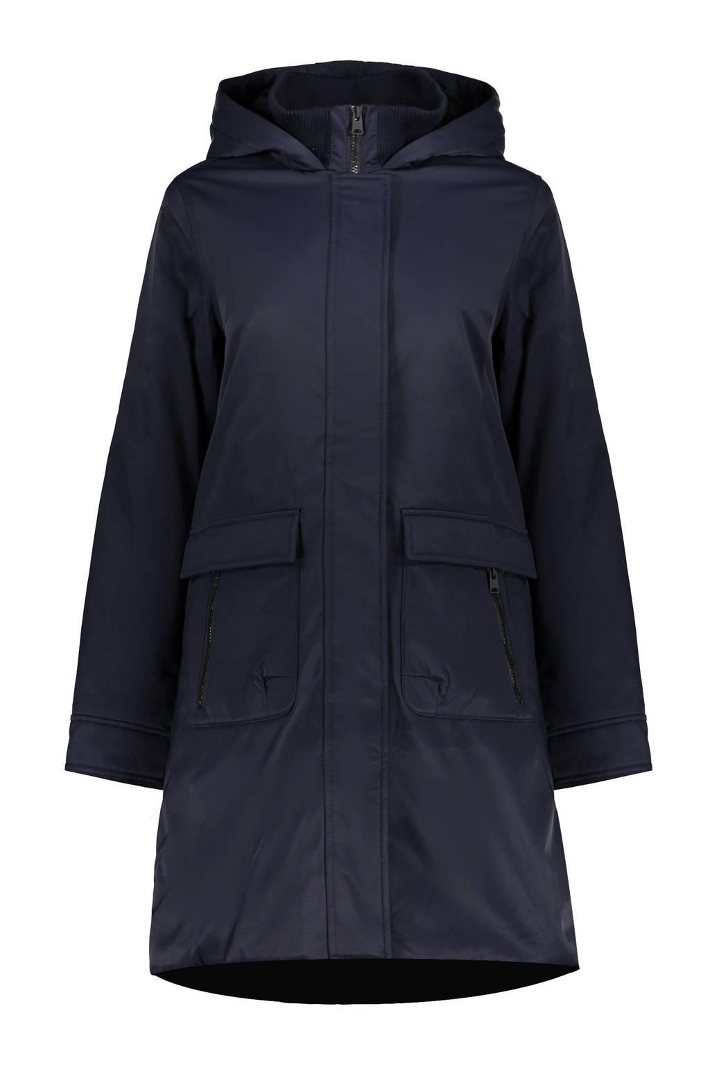 Geisha gewatteerde jas donkerblauw, Donkerblauw