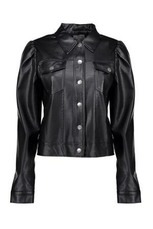 coated jasje zwart