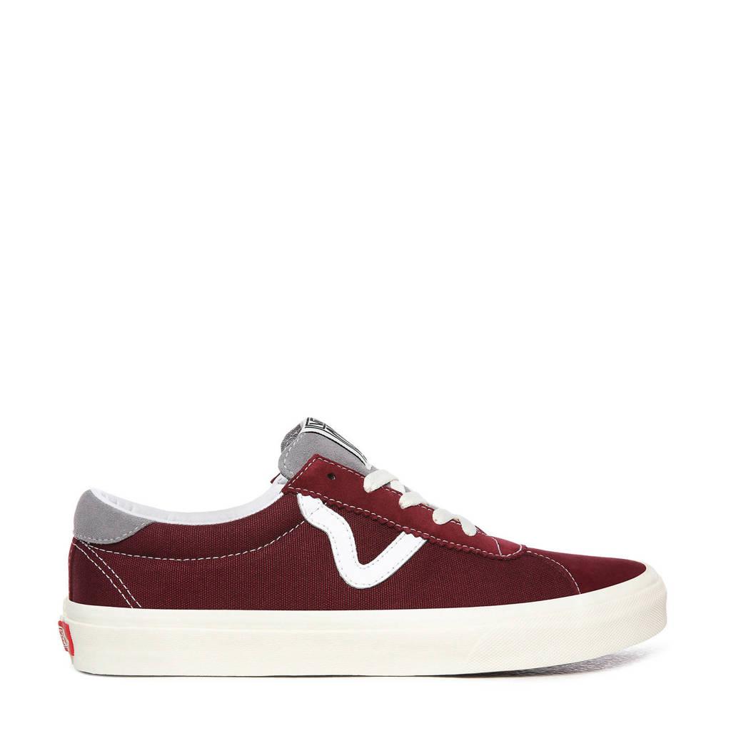 VANS Vans Sport Retro sneakers donkerrood/wit, Donkerrood/wit