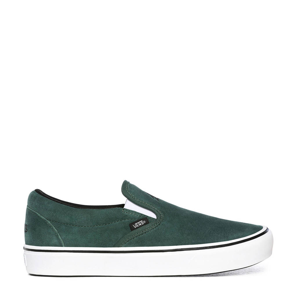 VANS ComfyCush Slip-On  sneakers groen, Donkergroen