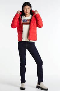Superdry gewatteerde jas rood, Rood