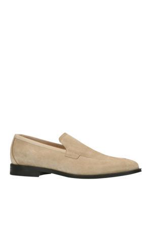 x Rien Welsink  suède loafers beige