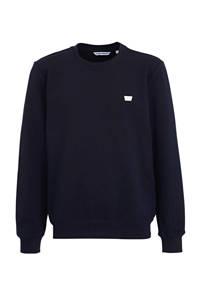 Antony Morato sweater met logo donkerblauw, Donkerblauw