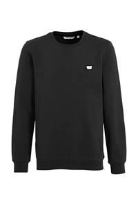 Antony Morato sweater met logo zwart, Zwart