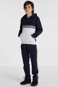 Antony Morato hoodie donkerblauw/wit, Donkerblauw/wit