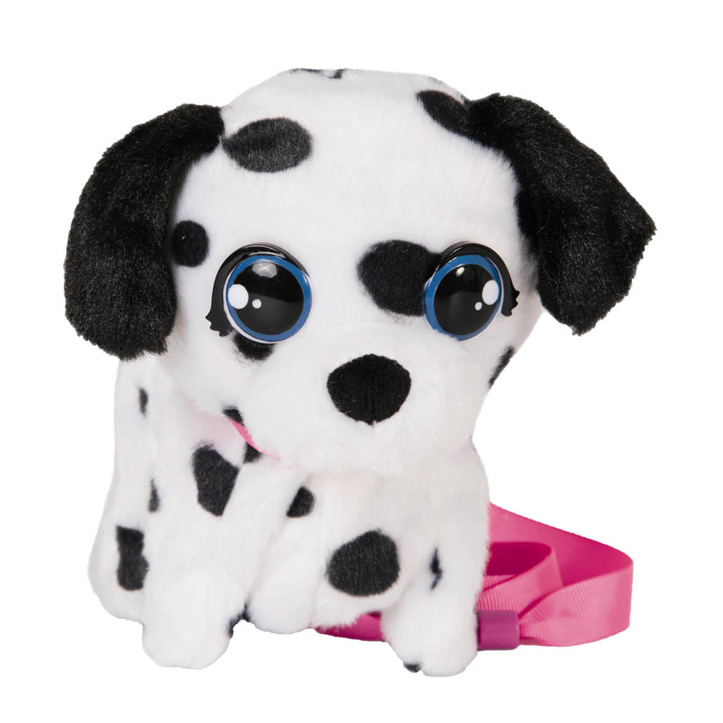 IMC Mini Walkiez - Dalmatier interactieve knuffel, Pluche