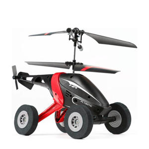 Air Wheelz Helicopter rood