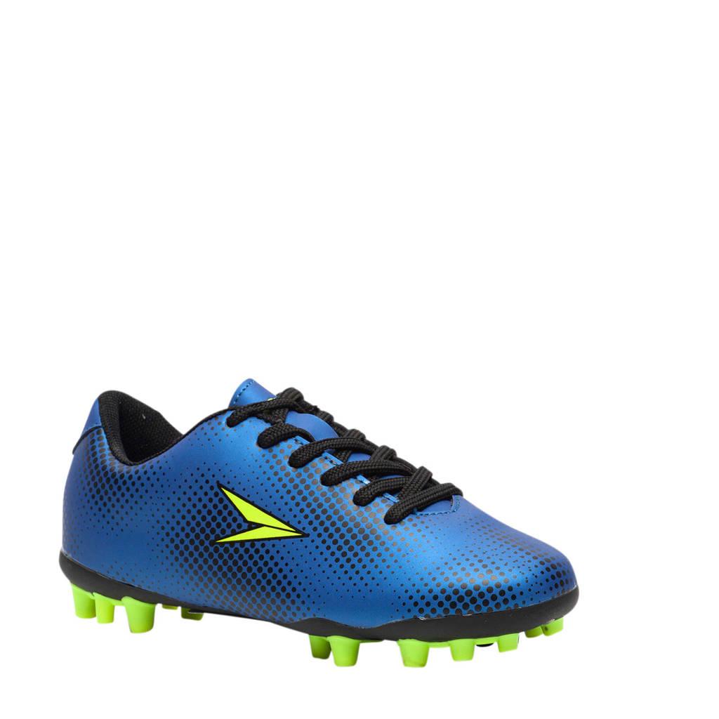 Scapino Dutchy Dott MG Jr. voetbalschoenen blauw/geel, Blauw