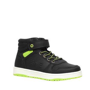 hoge sneakers zwart/geel