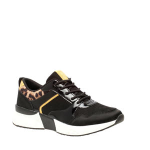 sneakers zwart/panterprint
