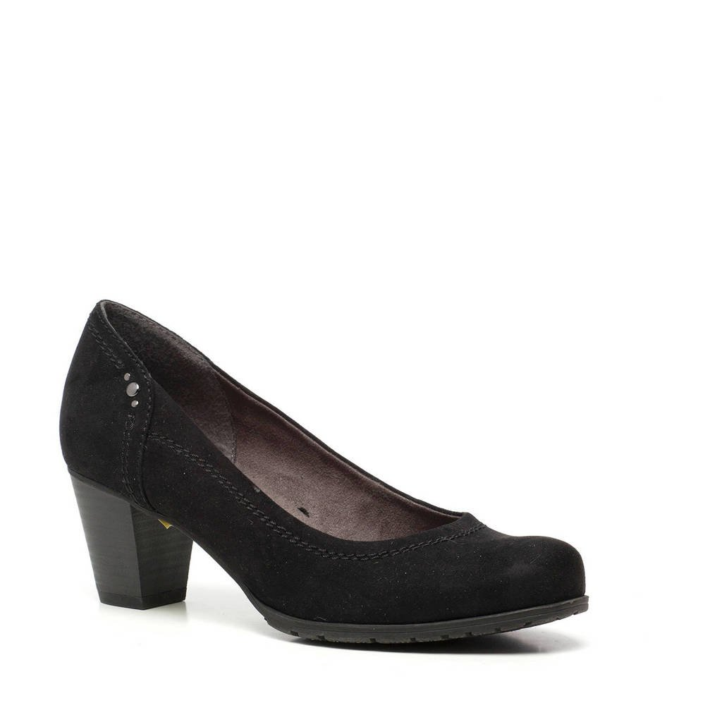 Scapino Softline   pumps zwart, Zwart