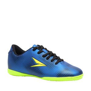 Dott IN Jr. zaalvoetbalschoenen blauw/fluorgeel