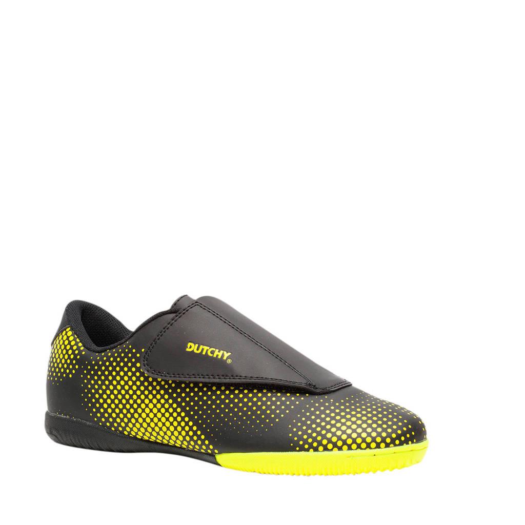 Scapino Dutchy Dott In Jr. voetbalschoenen zwart/geel, Zwart/geel