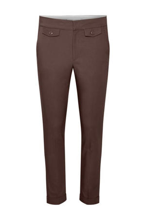 cropped regular fit pantalon Zella bruin