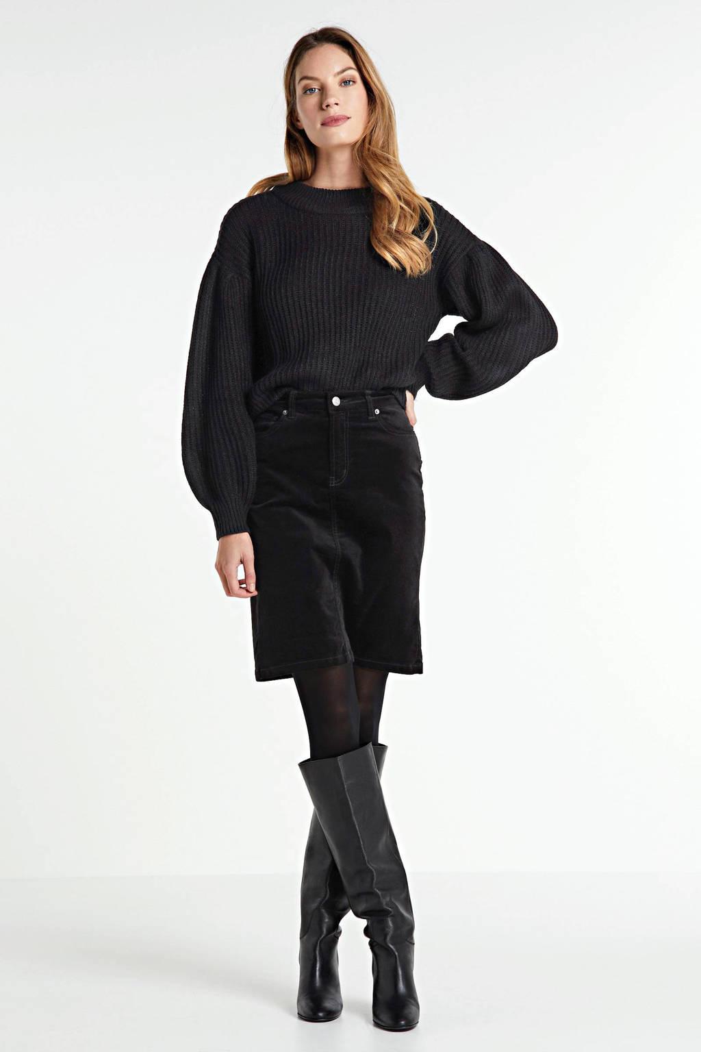 Inwear rok Tille zwart, Zwart