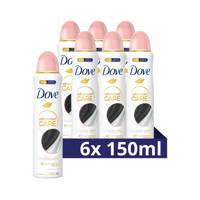 Dove Invisible Care anti-transpirant spray - 6x 150ml