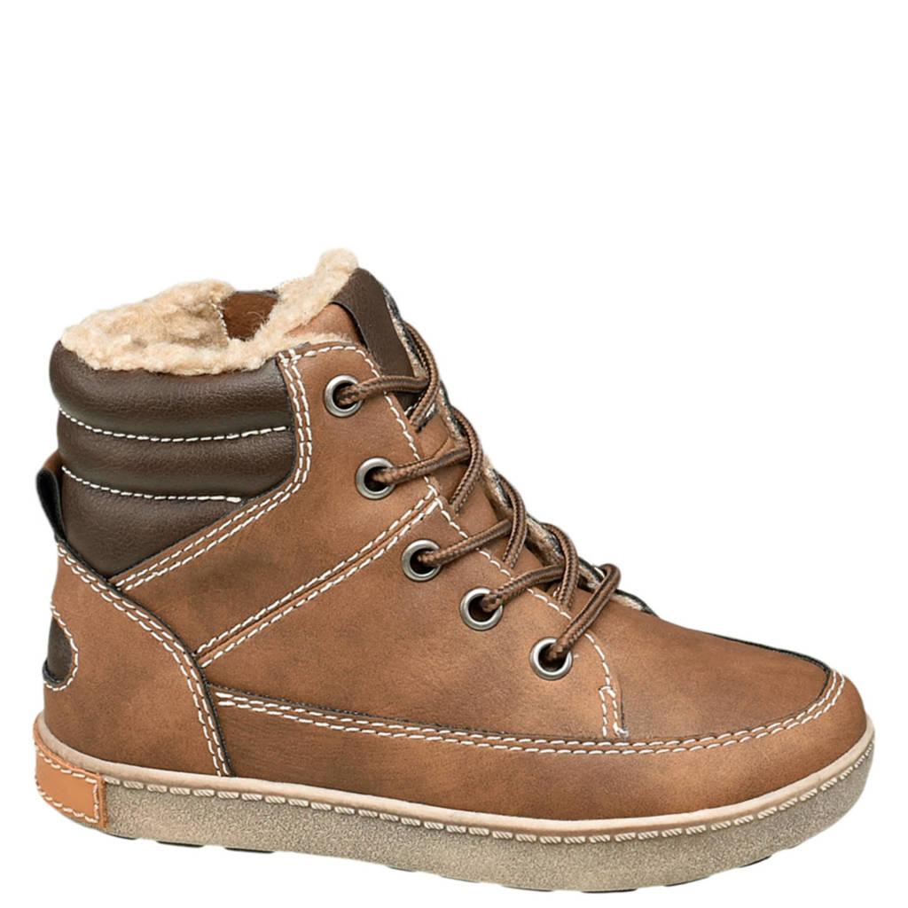 Bobbi-Shoes   veterboots bruin, Bruin