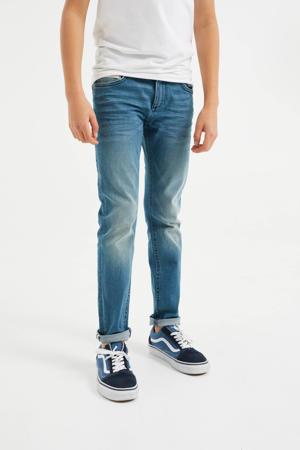 slim fit jeans Bowie Dragon blauw