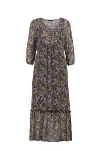 Expresso jurk met all over print meerkleurig, Meerkleurig