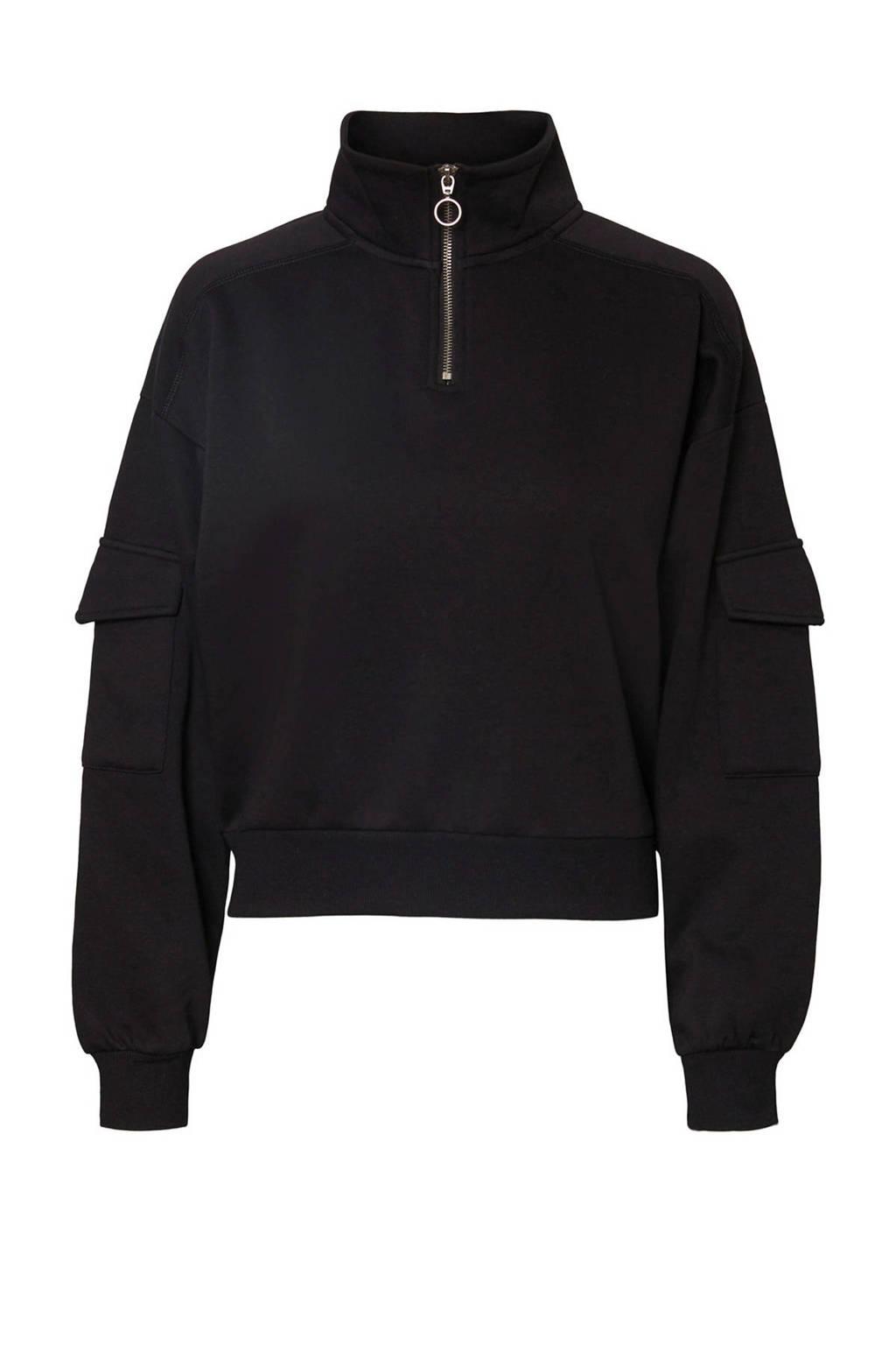 NOISY MAY trui zwart, Zwart