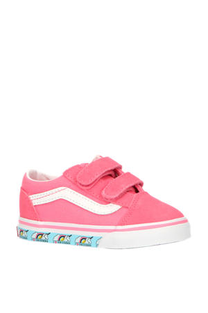 Old Skool V Unicorn sneakers roze/wit