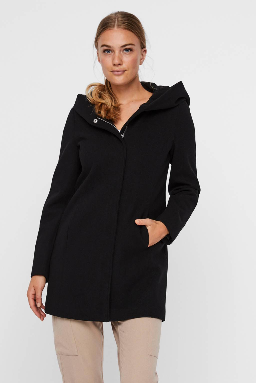 VERO MODA coat Dafnedora zwart, Zwart