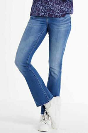 bootcut jeans Marli donkerblauw