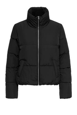 gewatteerde jas Newerica zwart